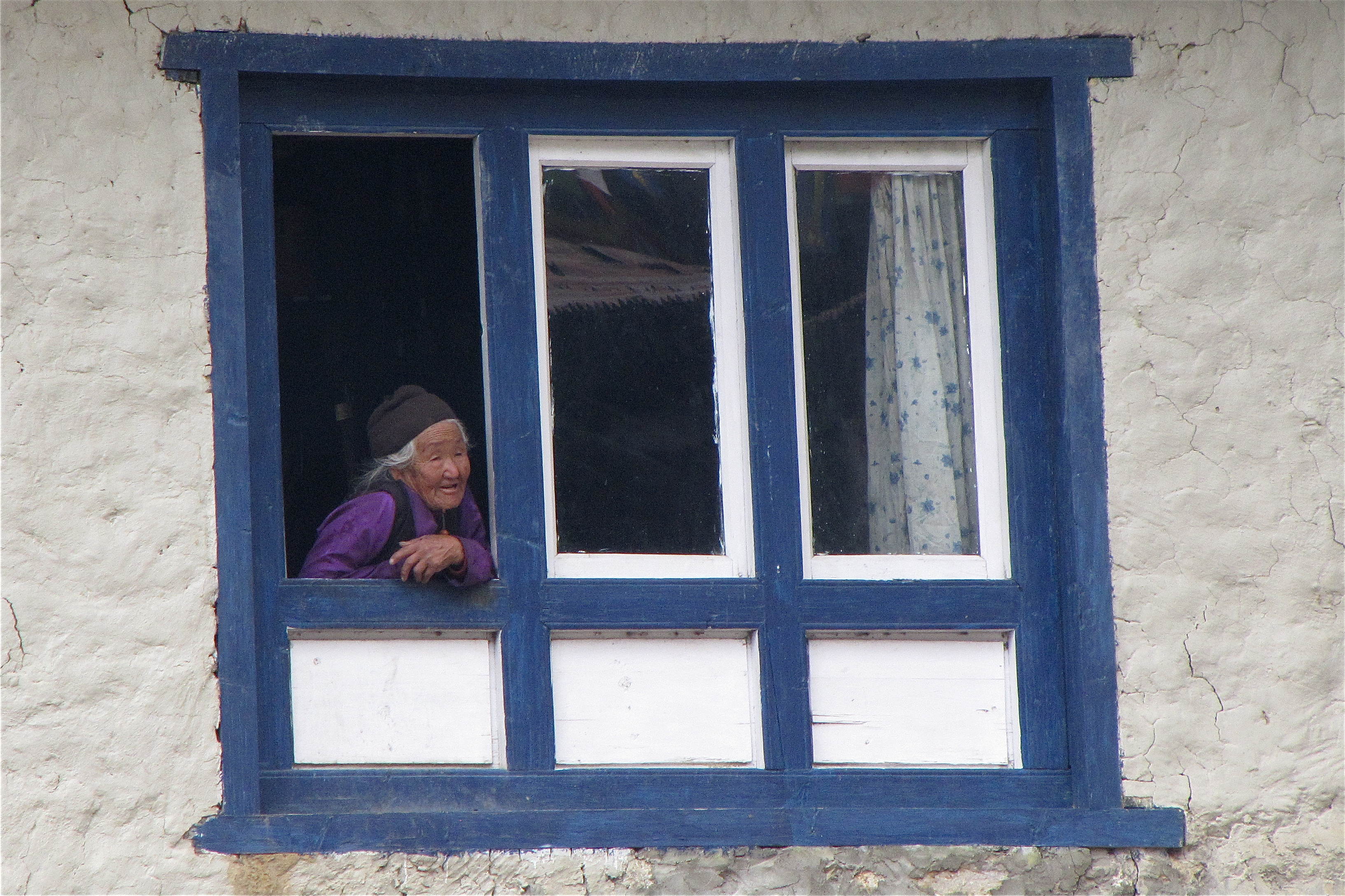 Villager in Namche