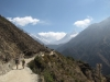 Trail from Namche to Tengboche